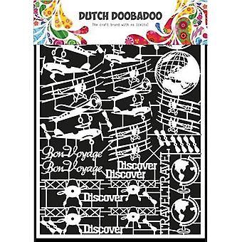 Dutch Doobadoo Dutch Paper Art Airplane - A5 472948050
