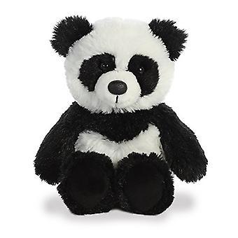 Aurora Panda Plush, White/Black