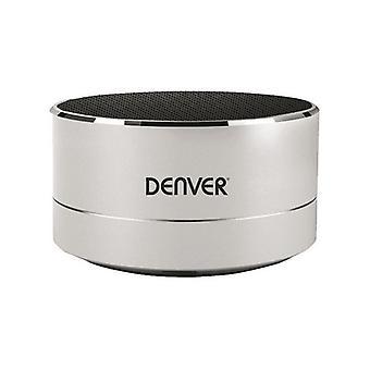 Vezeték nélküli Bluetooth hangszóró Denver Elektronika BTS-32 3W Ezüst