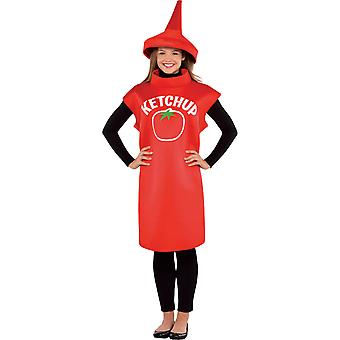 Woman Ketchup Bottle Costume