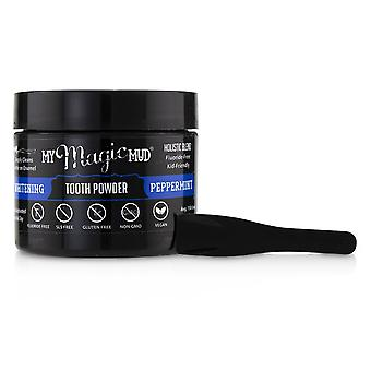 Activated charcoal whitening tooth powder   peppermint 30g/1.06oz
