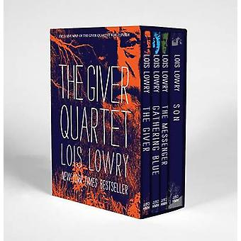 The Giver Quartet Boxed Set by Lois Lowry - 9780544340626 Book