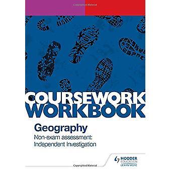 Pearson Edexcel A-nivå geografi kursarbeid arbeidsbok - ikke-eksamen ess