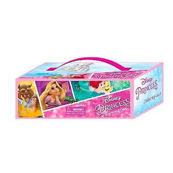 Disney Princess Childrens/Kids 52 Piece Colouring Case