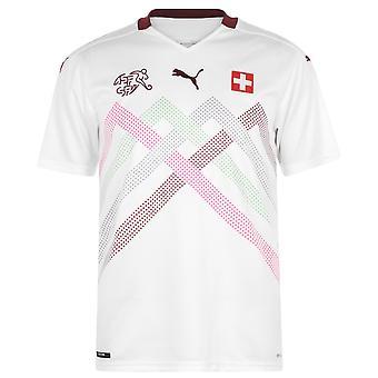 Puma miesten Italia Away paita 2014 tee alkuun jalka pallo replica T lyhythihainen