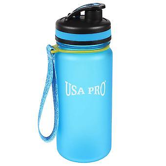 USA Pro Women Water Bottle 550ml Printed Measurement Markings BPA Free