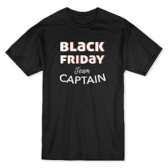 Black Friday Team Captain Men's Cardinal Red T-shirt