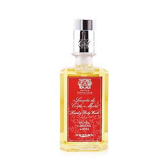 Hand & body wash   peonia, gardenia & rosa 296ml/10oz