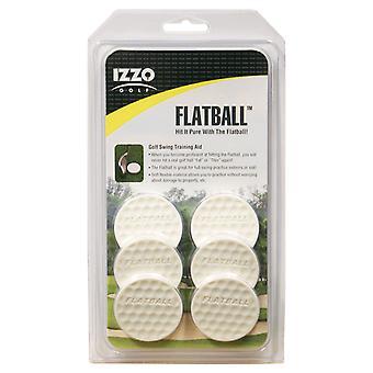 Izzo Golf Flatball Practice Balls