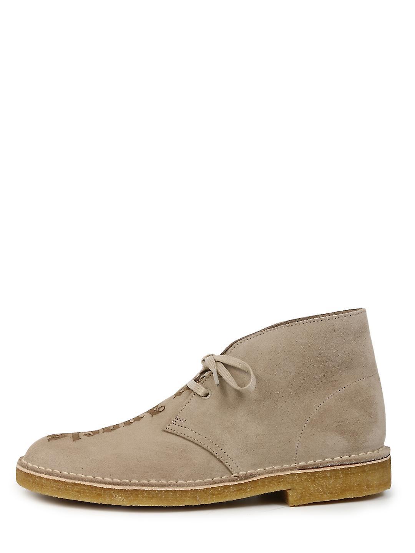 Palm Angels Pmia050e20lea0021717 Men's Beige Suede Ankle Boots