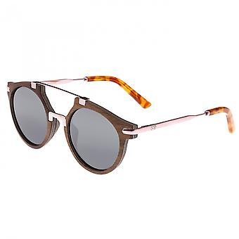 Earth Wood Petani Polarized Sunglasses - Black Walnut/Black
