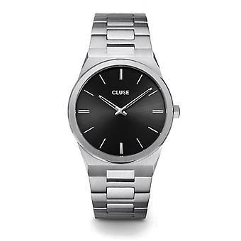 Cluse CW0101503004 Vigoureux Black Dial Wristwatch