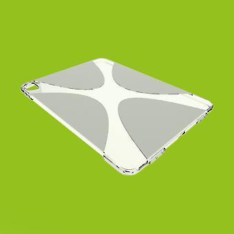 Schutzhülle Silikon X-Line Serie Transparent Hülle Tasche für Apple iPad Pro 12.9 2020