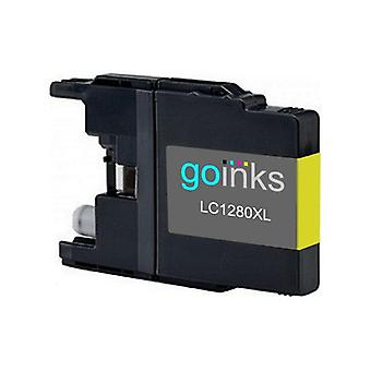 1 Yellow Ink Cartridge to replace Brother LC1280XLY Compatible / non-OEM for Brother MFC Printers