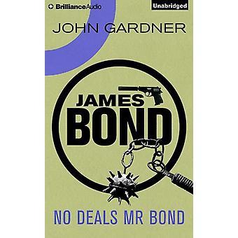 Gardner*John / Vance*Simon - No Deals Mr Bond [CD] USA import