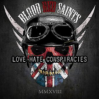 Blood Red Saints - Love Hate Conspiracies [CD] USA import