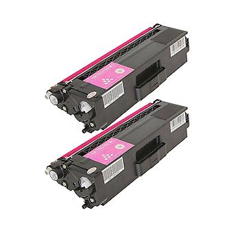 RudyTwos 2x Replacement for Brother TN329M Toner Unit Magenta(ExtraHighYield) Compatible with HL-L9200CDWT, L9200CDW, MFC-L9550CDW (NA), HL-L8350CDW, L9200CDWT, DCP-L8450CDW, MFC L8850CDW, L9550CDWT (