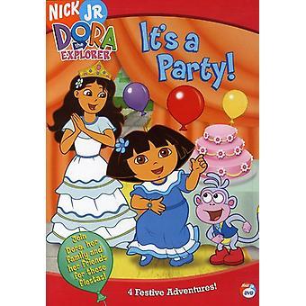 Dora l'exploratrice - c' est un Party [DVD] USA import