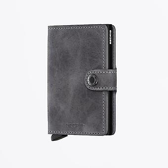 Secrid - Miniwallet - Vintage Grey/Black