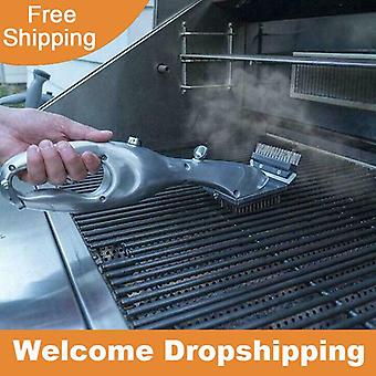 Daddy Steam Cleaning Barbeque Grill Brush For Charcoal Cleaner with Steam or Gas