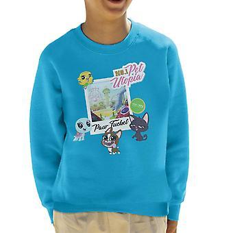 Littlest Pet Shop Paw Tucket Pet Utopia Kid's Sweatshirt