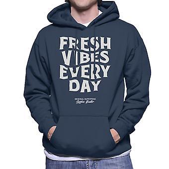London Banter frische Vibes jeden Tag Männer's Kapuzen Sweatshirt