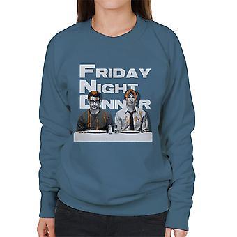 Friday Night Dinner Adam And Jonny Women's Sweatshirt