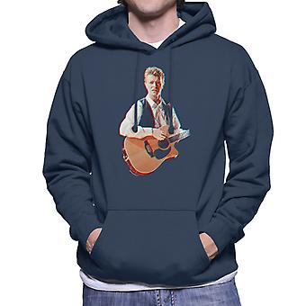 David Bowie op Birmingham NEC 3D Effect mannen 1990 Hooded Sweatshirt