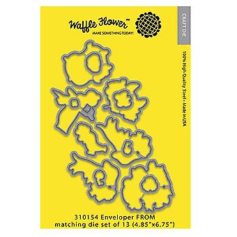 Waffle Flower Die-Enveloper from