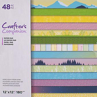 Crafter's Companion Home Away From Home 12x12 Inch Paper Pad