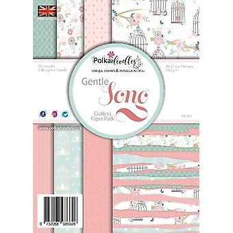 Polkadoodles Gentle Song A5 Paper Pack (PD7541) (PD7451a)