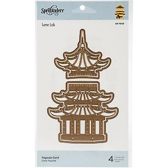 Spellbinders Pagoda Card Dies