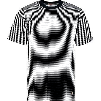 Armor Lux Short Sleeved Fine Striped T-Shirt