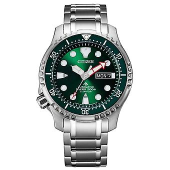 Citizen NY0100-50XE Promaster Super Titanium automatisch horloge 42 mm