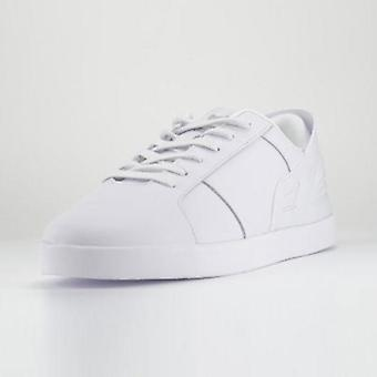 White men's triesti smart casual trainers
