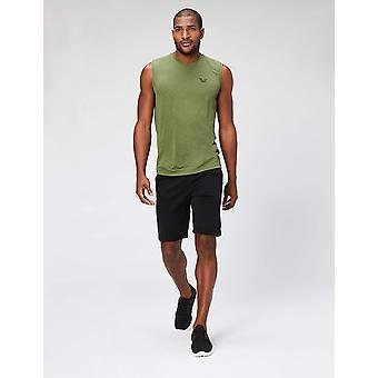 Peak Velocity Men's VXE Sleeveless Quick-dry Multiple-Fit T-Shirt, Stealth Gr...