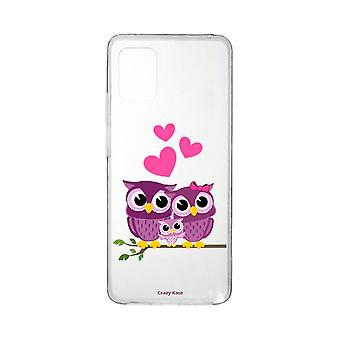 Hull For Xiaomi Mi 10 Lite Soft Family Owl