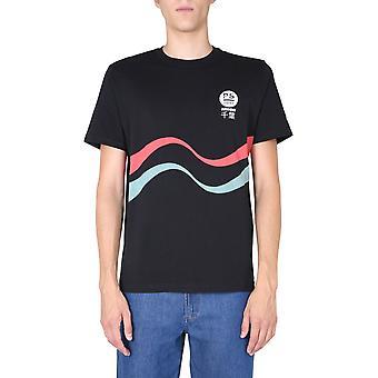 Ps Door Paul Smith M2r011rep218979 Men's Black Cotton T-shirt