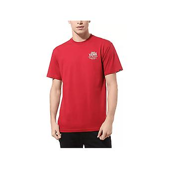 Camiseta Vans Holder St (cardinal)