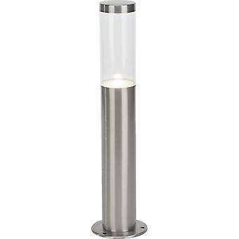 BRILLIANT Lamp Bergen LED Outdoor Base Lamp 40cm roestvrij staal   1x LED-PAR51, GU10, 4W LED reflector lamp inbegrepen, (345lm,