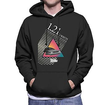 Back to the Future 121 G Watts Men's Hooded Sweatshirt
