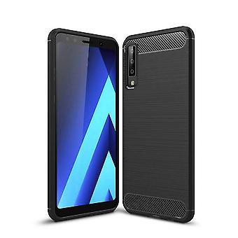 Colorfone Samsung A7 2018 Shell Armor 1 (Zwart)