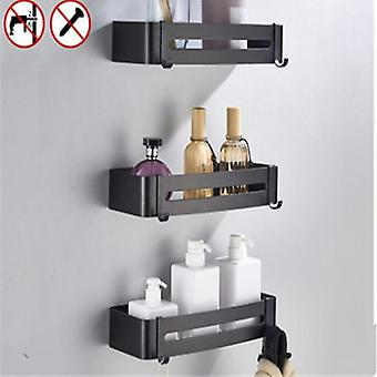 Wall Mount Toilet/bathroom Storage Rack With Drian Hole Design