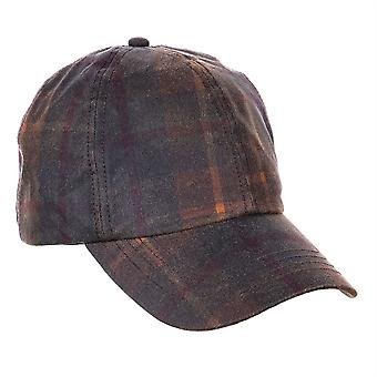 ZH214 (HUNTER ONE SIZE ) Ewan Tartan Wax BB Cap