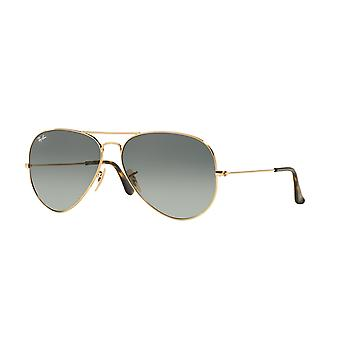 Ray-Ban Aviator RB3025 181/71 Gold/Grey Sunglasses