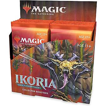 MTG: Ikoria- Lair of Behemoths Collector Booster Display (Pack of 12)