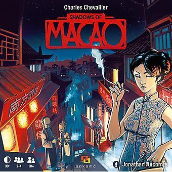 Sombras del juego de cartas de Macao