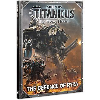Games Workshop Regels Supplement - Adeptus Titanicus Defensie van Ryza
