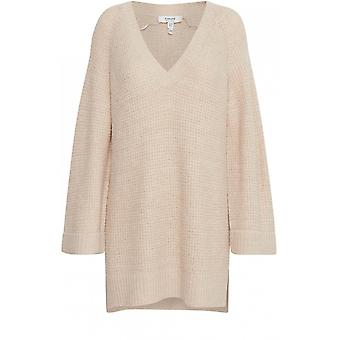 b.young Misha Cream Knit Jumper