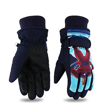 Kids Boys Girls Gloves Outdoor For Winter Warm Waterproof
